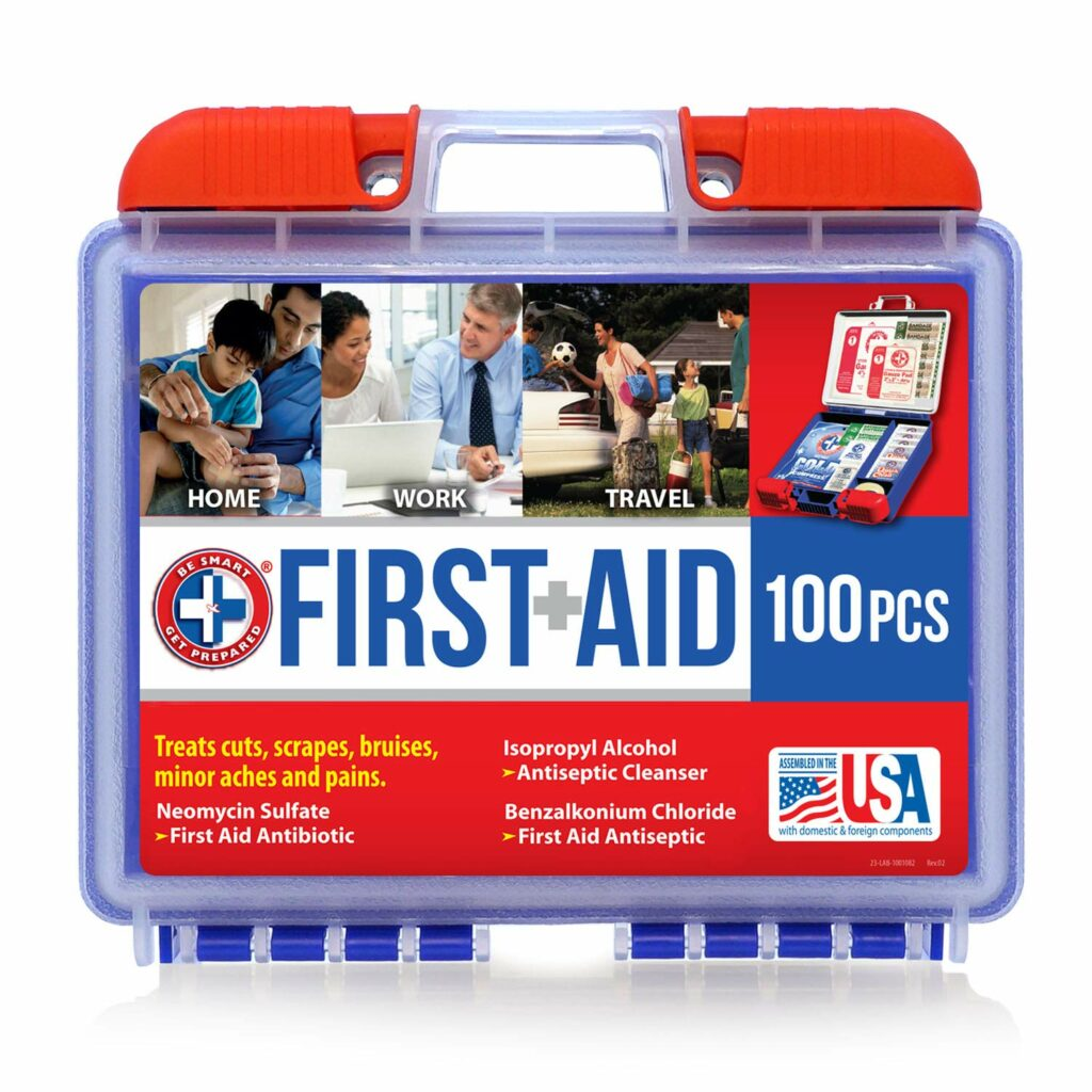 100 Piece First Aid Kit